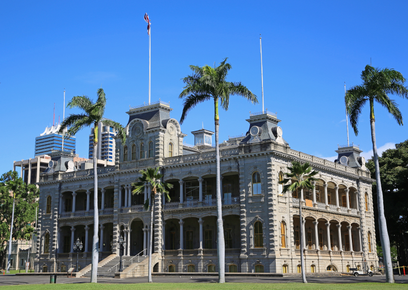 Iolani Palace in Hawaii