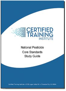 Free National Pesticide Applicator Certification Core Exam Study Guide