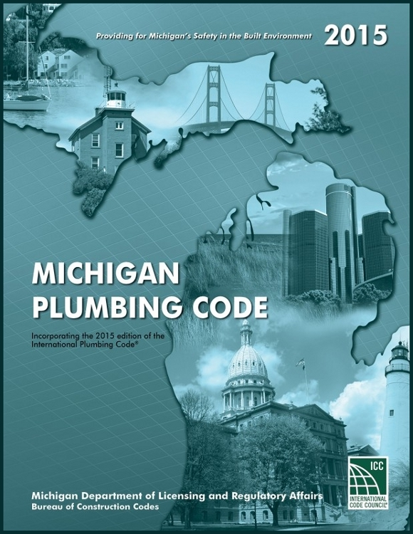 2015 Michigan Plumber Code