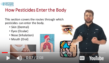 How Pesticides Enter the Body